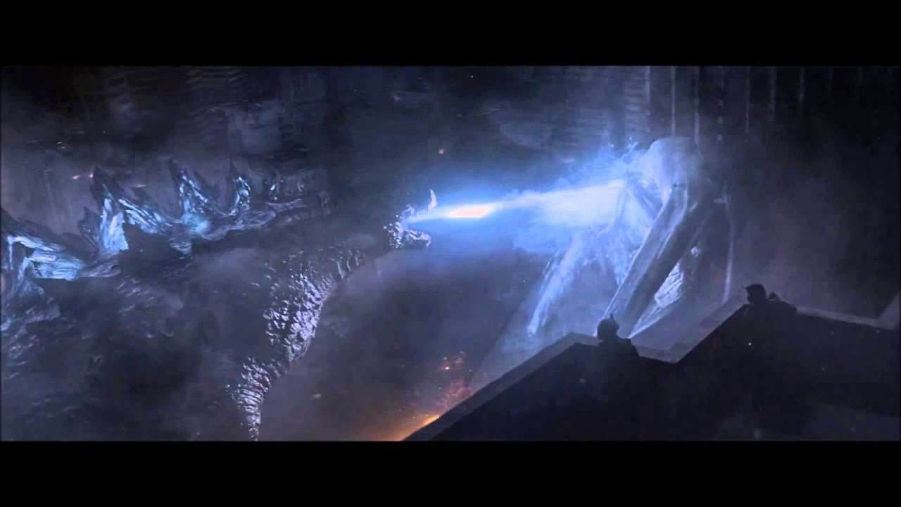 Falling Bridge Wallpaper Godzilla 2014 Atomic Breath Hd Youtube
