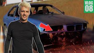 quebrei o carro de drift :(