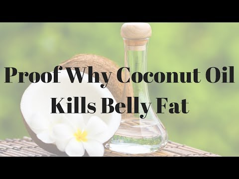 Proof Why Coconut Oil Kills Belly Fat – 815