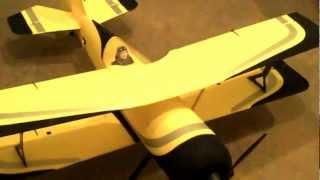 Nitroplanes.com Dynam Peaks Pitts Python Biplane Build