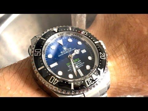 Rolex Sea-Dweller Deepsea - Your Wrist Is Too Small To Wear It!