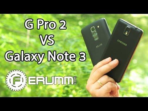 LG G Pro 2 VS Samsung Galaxy Note 3 битва фаблетов. Сравнение лопат G Pro 2 VS Note 3 от FERUMM.COM