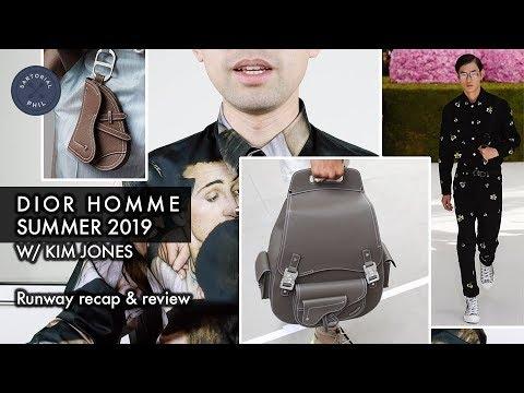 DIOR HOMME SS19/Summer 2019 Kim Jones Debut Runway Men's Collection: Review & Recap