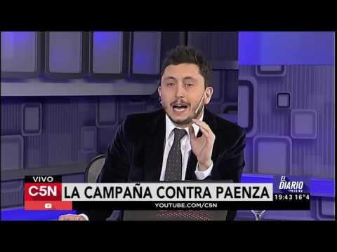 C5N - Politica: Campaña en contra de Paenza, el debate