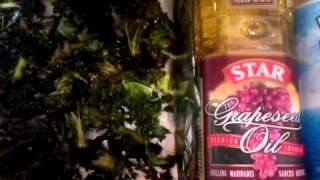 Paleo Diet Recipe - Kale Chips Vs. Potato Chips!