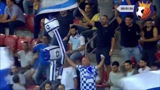 ישראל נגד אלבניה 0-2