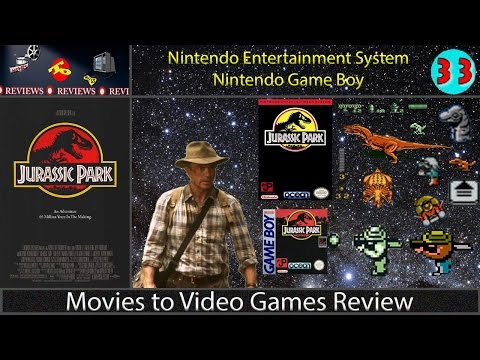 Movies to Video Games Review -- Jurassic Park (NES & Game Boy)