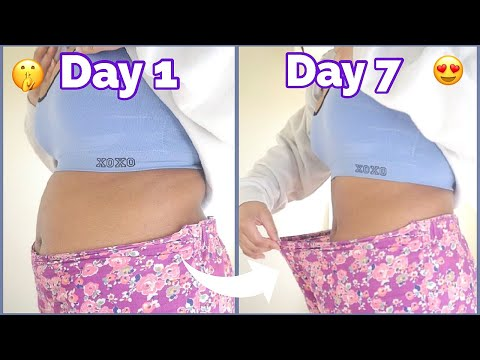 I TRIED APPLE CIDER VINEGAR (FOR 1 WEEK) FOR WEIGHT LOSS *I'M SHOOK* BEFORE AND AFTER RESULTS