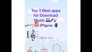 Best 3 Apps for Download music on iphone📱| 🎸🎧