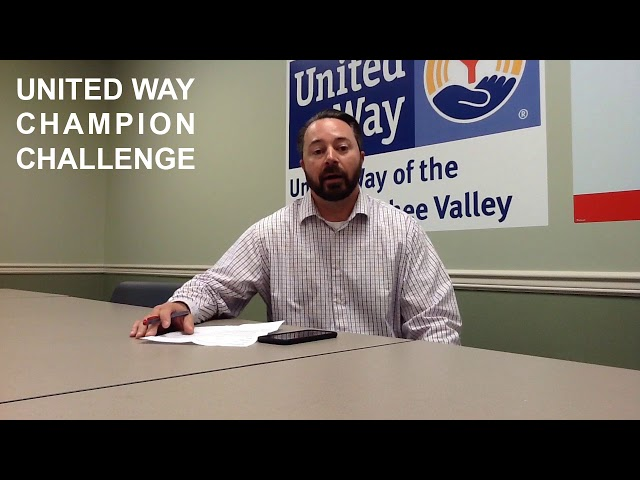 United Way Champion Challenge, Scott Holmes