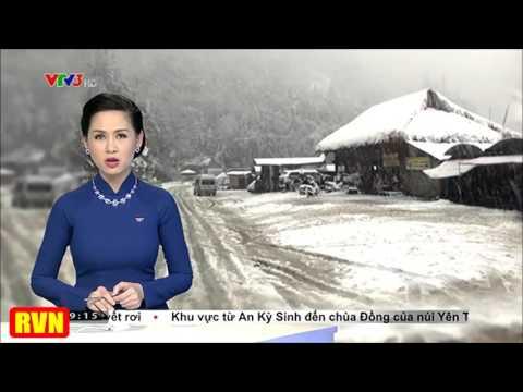 Bão tuyết lớn nhất, rộng nhất trong lịch sử Việt Nam