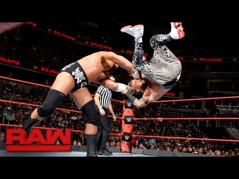 Enzo Amore vs. Big Cass: Raw, July 24, 2017