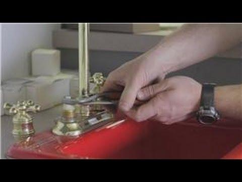 faucet repair how to repair a leak on a gooseneck faucet youtube rh youtube com