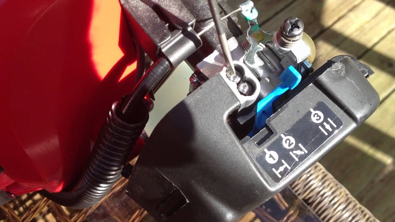 troy bilt tb32 ec 2 cycle weed trimmer bogs down fix trouble tune up [ 1920 x 1080 Pixel ]
