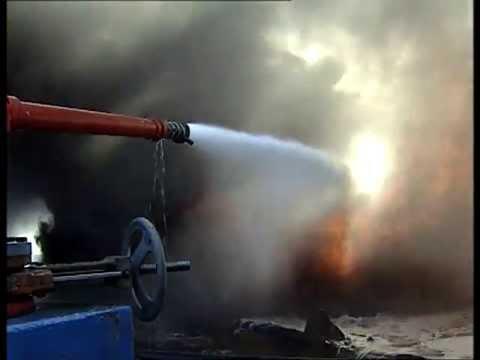 Fire Oiltanker NASSIA (Smit Tak - 1994)