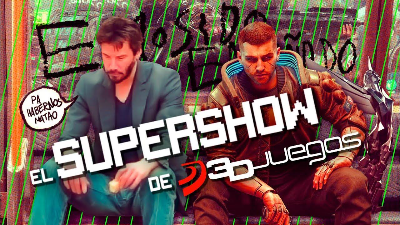 SUPERSHOW: GOTY 2020, POLÉMICA CYBERPUNK 2077 en CONSOLAS y ADIÓS a LAS REVIEWS con NOTA en 3DJuegos