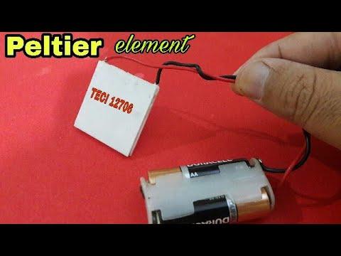 "Experiment with ""Peltier element"" TECI-12706"