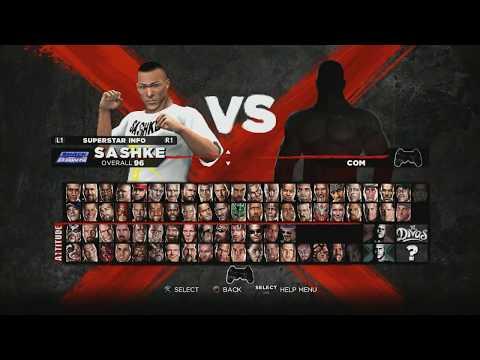 WWE 13 качаем рестлеров и создаём новый бренд TNA