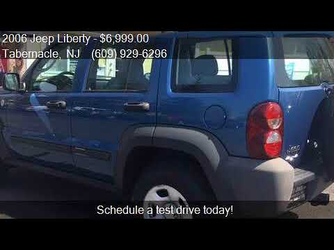 2006 Jeep Liberty Sport 4dr SUV 4WD for sale in Tabernacle,