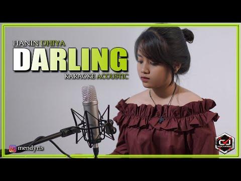 Hanin Dhiya - Darling (Acoustic Guitar Karaoke Version)