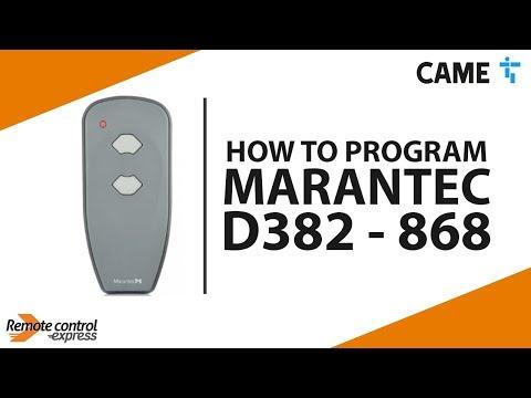 Remote MARANTEC D382-868