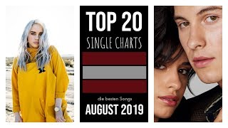 TOP 20 SINGLE CHARTS ♫ best of AUGUST 2019 [Ö]