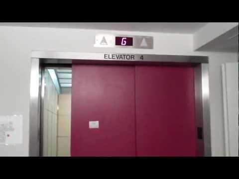 Milton, MA: Westinghouse Traction North Elevators (Payne Mods) @ Milton Hospital