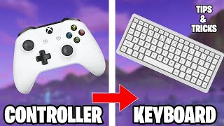 Tips for switching from controller to keyboard and mouse (Fortnite)