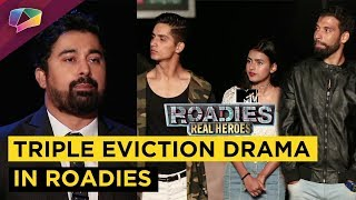 Neha Dhupia And Sandeeps Heated Argument MTV Roadies Vote Out
