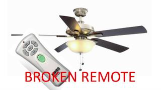 Ceiling Fan Remote Control Replacement
