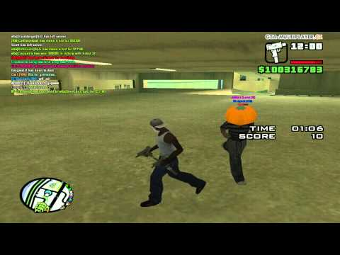 Cop abusing in minigame.
