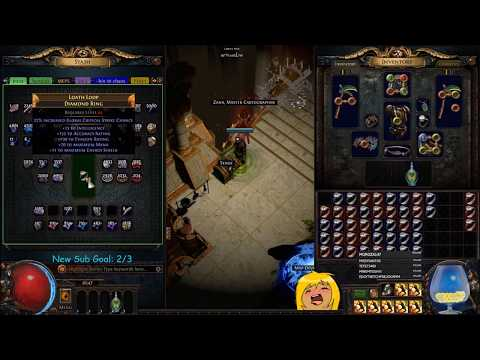 Path of Exile | Chaos Crafting Jewelry For Profit - Demi 'Splains Live