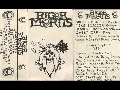 Rigor Mortis - Demo '86 (Full demo - Own Rip)