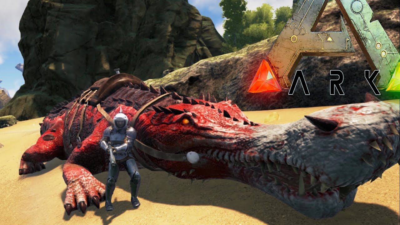 ark survival evolved alpha sarco mega snake pit fails modded