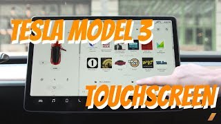 Tesla Model 3 Touch Screen Tour For The Screen-Challenged