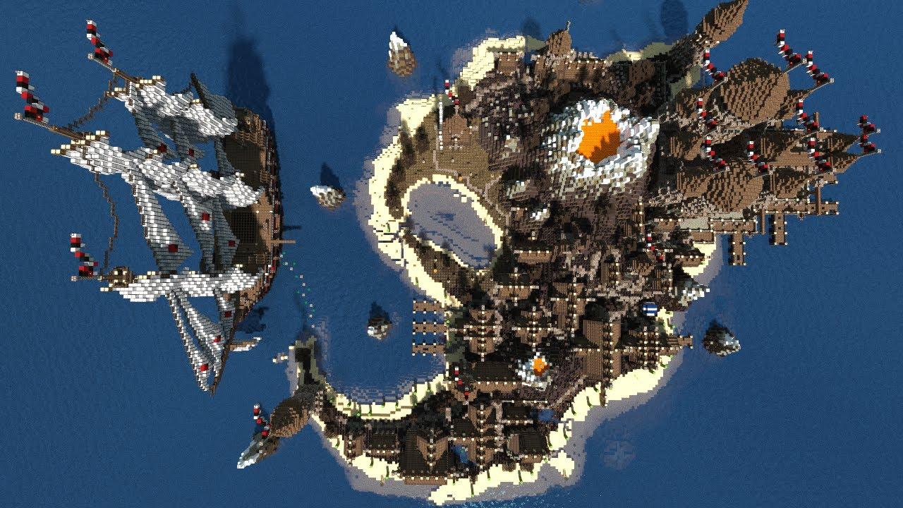 Minecraft Island City Map