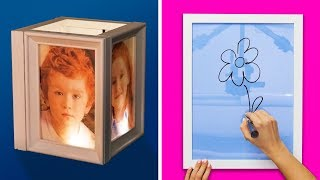 20 CRAFTY AND COOL DIY PICTURE FRAMES
