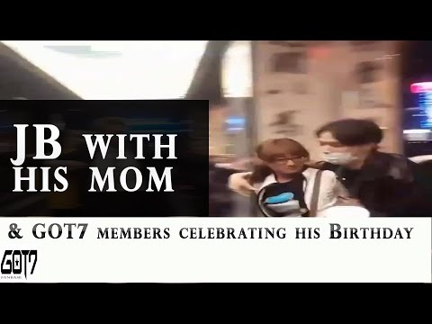 170106 - GOT7 Members Celebrating JB's Birthday With His Mom