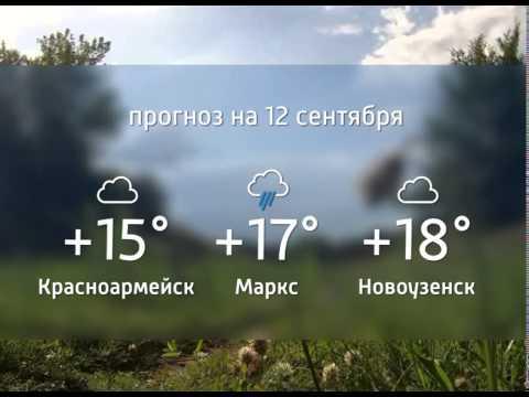 Прогноз погоды. 12.09.2015