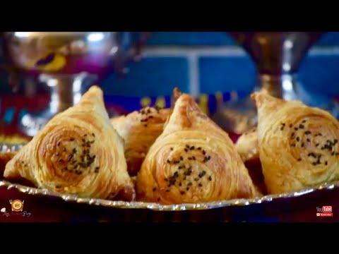 O'zbekcha Qatli Somsa    Слоёная Узбекская Самса    Best Uzbek Samsa Recipe (2018)