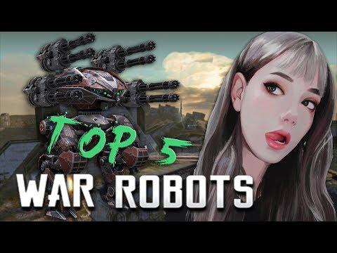 ТОП 5 роботов 2019 WAR ROBOTS