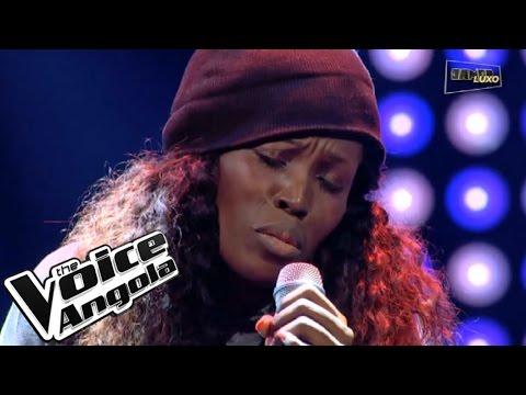 """Esperança Miranda com """"Chandelier"""" / The Voice Angola 2015 / Show ao Vivo 2"""