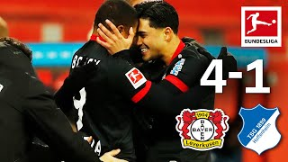 Leverkusen on top of the table! | Bayer Leverkusen - Hoffenheim | 4-1 | Highlights | MD 11 – 2020/21