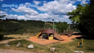 Aire de jeux du Camping Bleu Soleil