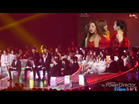 [181201] WANNA ONE, GFRIEND, BTS Reaction To Apink - I'm So Sick