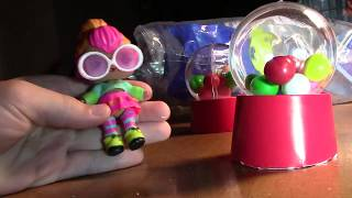 DIY how to make a mini gumball machine with Neon cutie!
