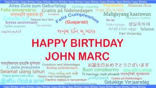 JohnMarc   Languages Idiomas - Happy Birthday