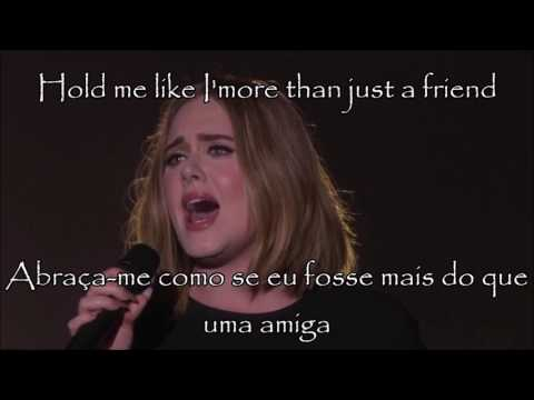 Adele All I Ask (Lyrics)