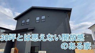 30坪 4LDk 注文住宅 間取り 「畳コーナーと吹抜けのある家」