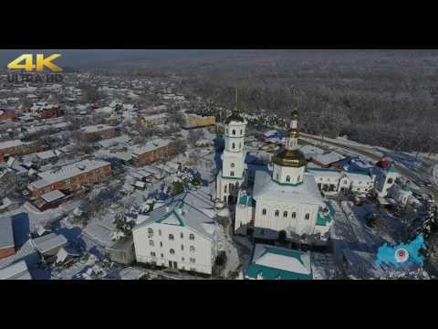 "Монастырь ""Нерушимая стена"". Апшеронск. Зима"